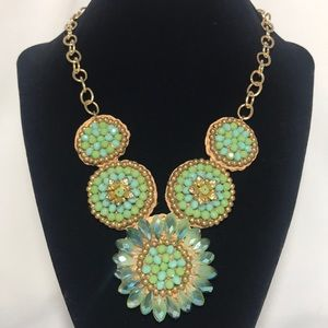 Glass Beads Fashion Necklace